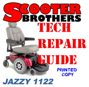 Details about Pride Jazzy 1122 Service And Repair Technical Guide With on