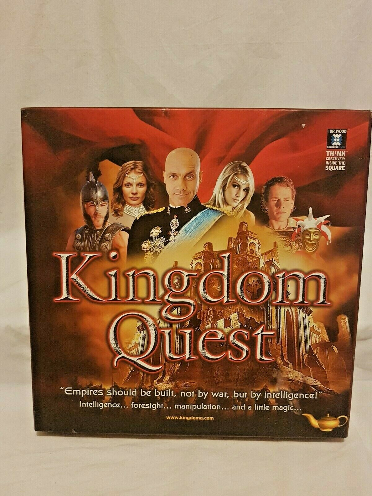 Kingdom Quest Strategic Puzzle Board Game Global Puzzles 2006 Aus Seller