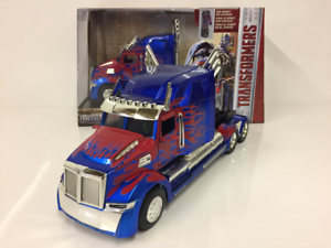 Transformers The Last Knight Optimus Prime Western Star Jada 98403 Scale 1 24