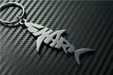 SHARK Keyring porte-clés keychain REEF SEA .FISH BLACK TIP GREAT TIGER WHITE DOG