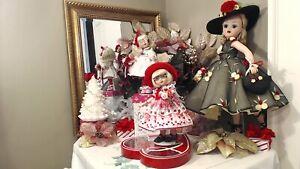 "ANN ESTELLE TONNER 10"" 1998 ""LOVE BUG!"" OOAK ""BE MINE VALENTINE! DRESS! RED HAT!"