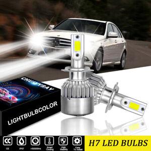 For Mercedes C-Class W204 2007-2014 High Beam H7 LED Headlight Bulbs 6500K Kit