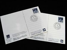 1994 Hong Kong Polygram Postcard No. 1 & 2  - First Day Issue Cancellation