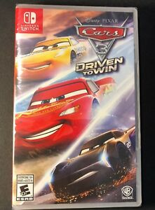 Cars 3 Driven To Win Nintendo Switch New 883929589036 Ebay