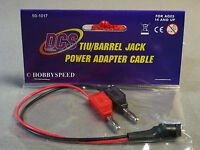 Mth Rail King Real Dcs Tiu/barrel Jack Power Adapter Cable Train 50-1017