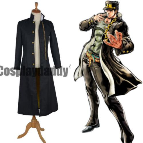 New!Anime JoJo/'s Bizarre Adventure Jotaro Kujo Cosplay Costume Jacket HH.01