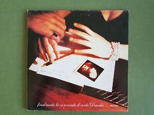 MINA  Finalmente ho incontrato il conte Dracula  2 x LP Vinile 33 giri 1st