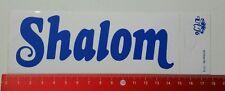Aufkleber/Sticker: Shalom (05041677)