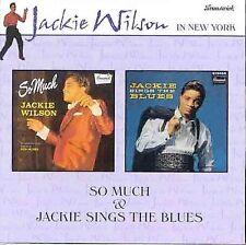 WILSON, JACKIE - So Much//Jackie Sings the Blues - CD