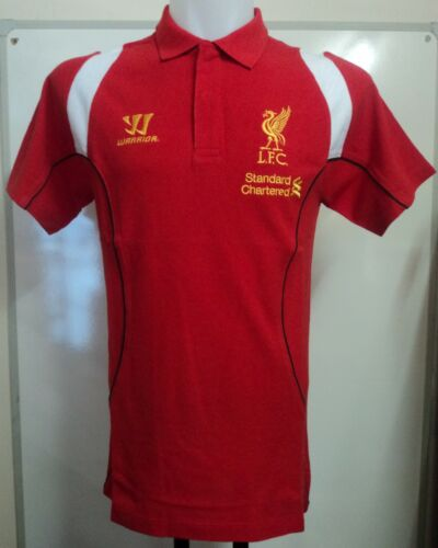 LIVERPOOL 201213 RED TRAINING POLO BY WARRIOR ADULTS SIZE SMALL BRAND NEW