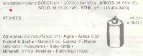 MORINI E 070167  CONDENSATORE SACHS GARELLI FLEX EUREKA MINARELLI V1 V2 F