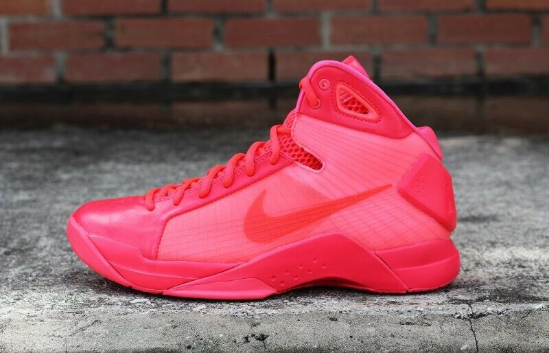 Nike männer hyperdunk 2008 basketball - schuh - roten retro - revival - größe.