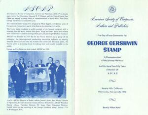 1484-First-Day-Ceremony-Program-8c-George-Gershwin-Stamp