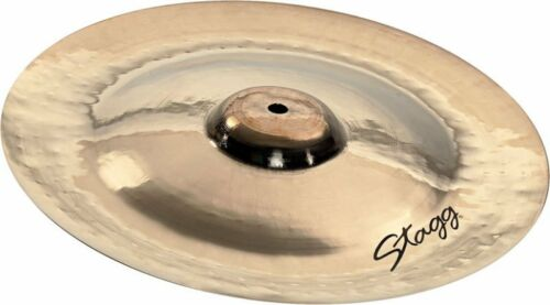 """Stagg 08/"""" DH Double Hammered China Cymbal DH-CH8B"""