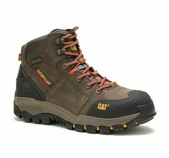 Caterpillar P90613 Navigator Mid Waterproof Steel To Grey 7 Medium For Sale Online Ebay