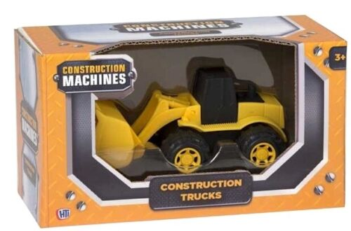 """4/"""" Construction Machines Vehicles Kids Toy Digger Dump Truck Loader XMAS Gift"""