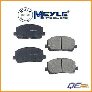 Front /& Rear Ceramic DISC Brake Pads for Subaru Forester Impreza Legacy Outback