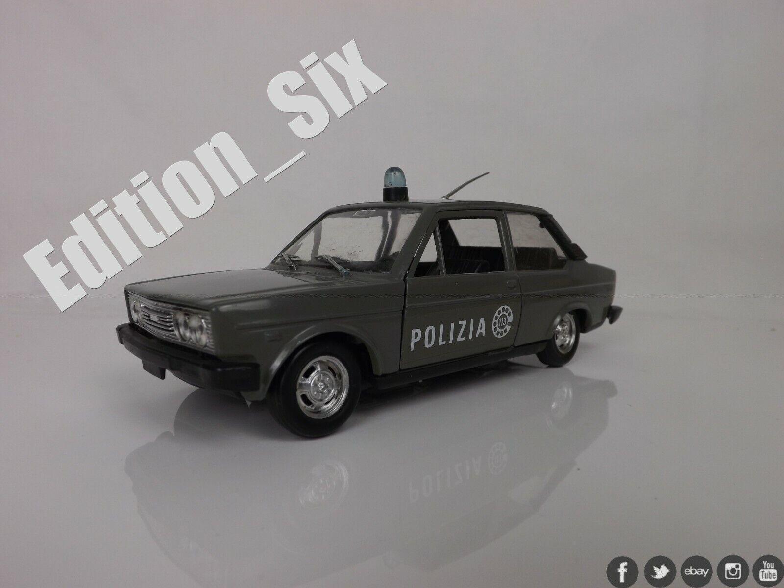 Polistil 1 24 1 25 FIAT 131 MIRAFIORI classic car model replica Police car