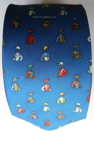 Most comprehensive range of horse racing themed ties on  Horsey Gifts