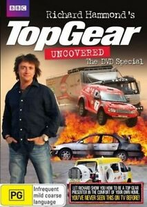 TOP-GEAR-RICHARD-HAMMOND-039-S-UNCOVERED-DVD-SPECIAL-FREE-POST