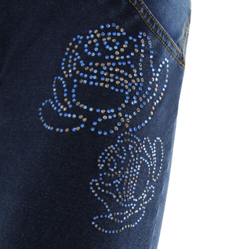 Jeans Scuro con STRASS floreali Freddy WR.UP Jeans Skinny WRUP1LJ05E J0//Y COL