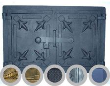 alt gusseisen feuer tür / brot ofen Tür / Ofen rauch / FARBEN / 480 x 330mm