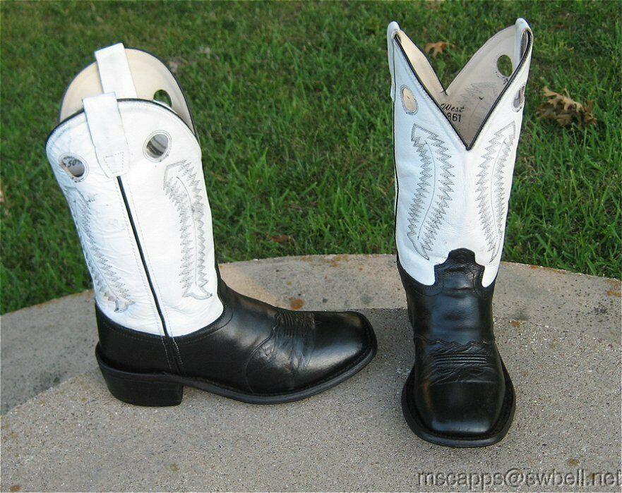 WEST Vaqueros botas para hombres 7'M OLD