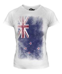 Nueva-Zelanda-Descolorido-Bandera-Mujer-Camiseta-Top-Aotearoa-Futbol-NZ-Camisa