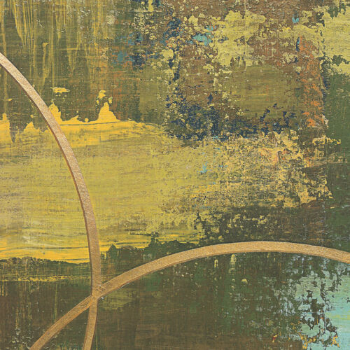 """36W/""""x36H/"""" ALLER CHARTREUSE by PATRICK St-GERMAIN CANVAS"""