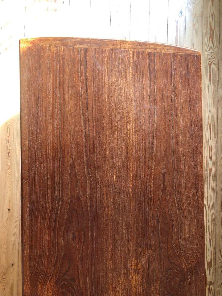 Sofabord, teaktræ, b: 53 l: 154 h: 51