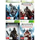 Assassin's Creed Brotherhood Xbox 360 Platinum Game Ma15