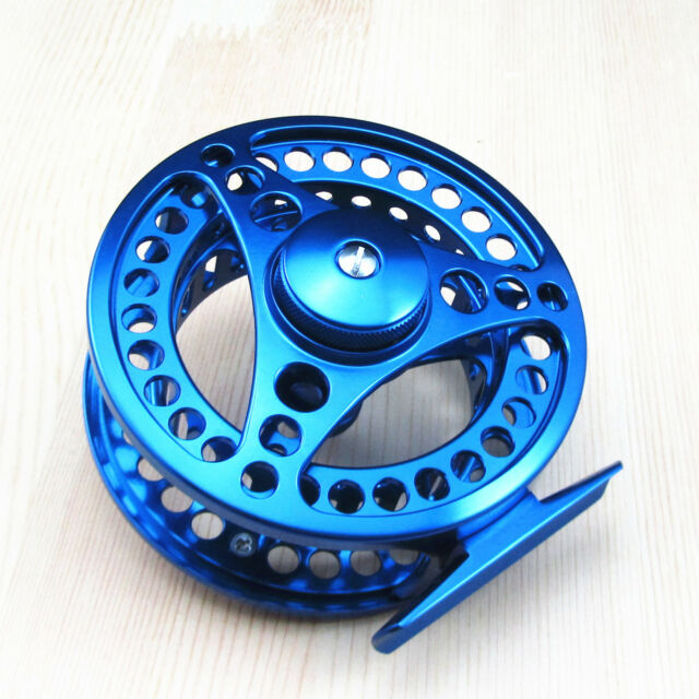 7/8 CNC Machined Aluminum Fly Fishing Reel Adjustable Drag River Trout Fishing