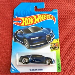 Hot-Wheels-Bugatti-Chiron-Mattel-Sport-Car-Toy-NUEVO-y-Sellado