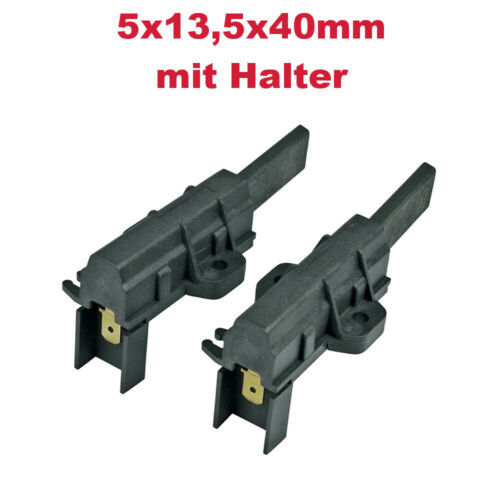 2x schleifkohle charbon broches pour INDESIT f045974 Wise 87 f061968 iwc5085