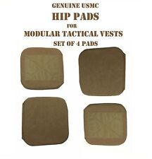 USMC COYOTE HIP PAD SPC MTV IMTV MODULAR TACTICAL VEST LOT of 4 PADS 2 SETS NEW