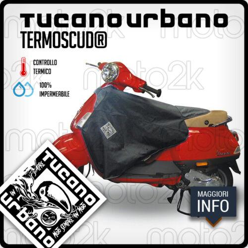 TERMOSCUD COPRIGAMBE TUCANO NERO R153N PER PIAGGIO LX DAL 2007