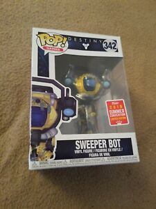 FUNKO-POP-SWEEPER-BOT-DESTINY-2018-SDCC-SAN-DIEGO-COMIC-CON-w-OFFICIAL-STICKER