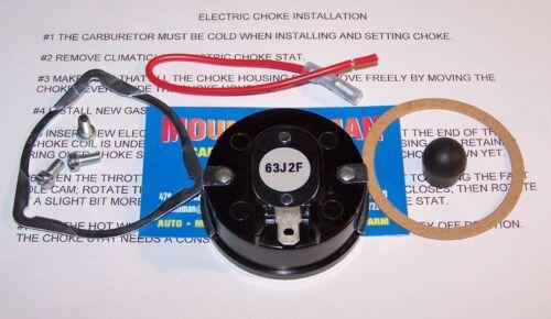 Electric Choke Conversion Kit Autolite 1100 Carburetor 63-69 Ford Mercury