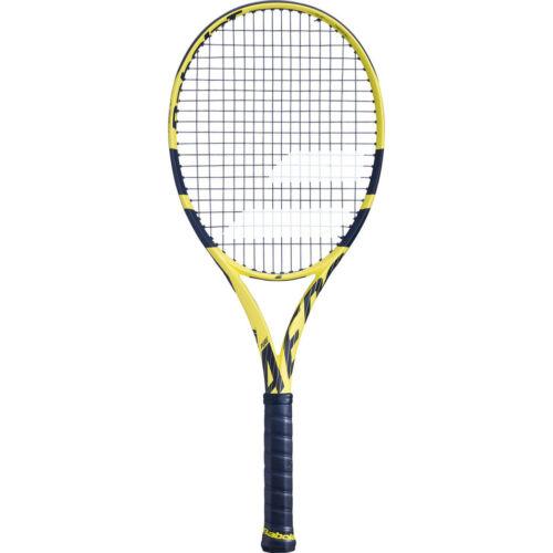 Nouveau 2019 BABOLAT PURE AERO 26 Junior Raquette De Tennis Cordée