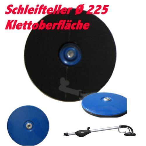 Schleifteller Kletteller für Menzer LHS 225 TBS 225 Langhalsschleifer