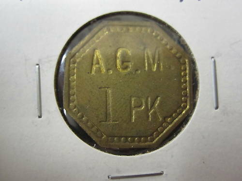 Check Token; Anne Arundel Co Maryland A.G.M 1 PK