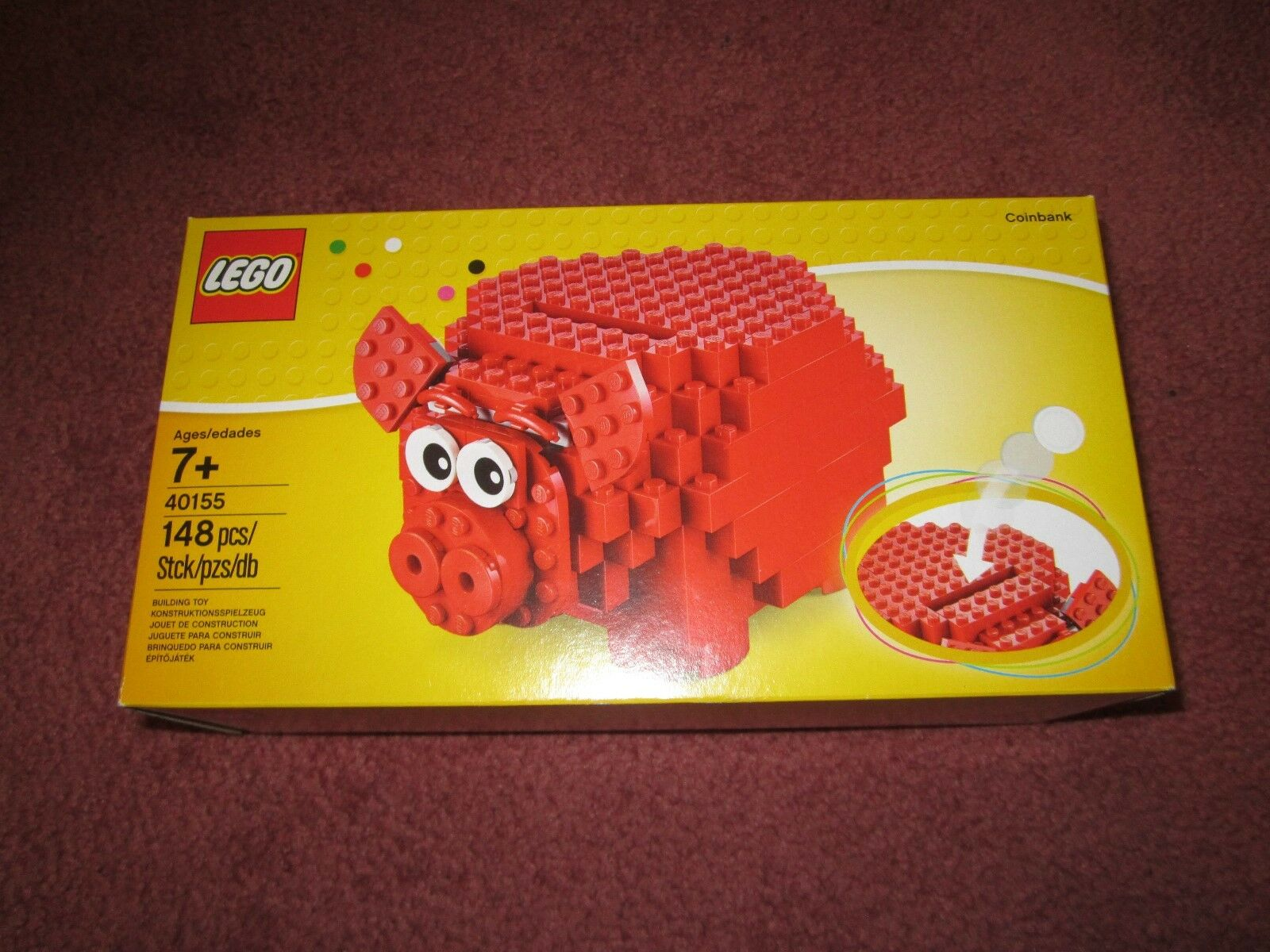 LEGO PIGGY BANK 40155 - NEW BOXED SEALED