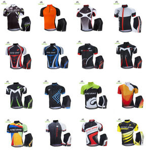 Men-039-s-Sportswear-Bicycle-Clothing-Cycling-Jersey-Bike-Bicycle-Short-Sleeve-Set