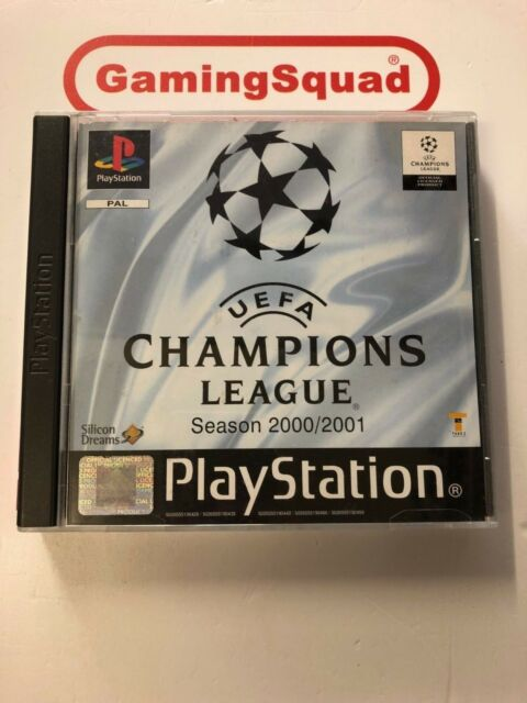 Uefa Champions League 2000/01 PS1 Playstation, Supplied by Gaming Squad Ltd