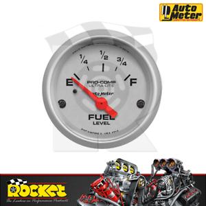 Auto Meter Pro-Comp Ultra-Lite 2-1/16 Fuel Level Gauge 0-90ohm - AU4314