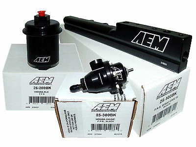 Adj Pressure Regulator for Civic Del Sol B16A2 B16A3 AEM High Volume Fuel Rail