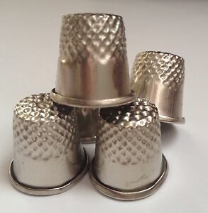 New! Metal Sewing Thimble Pins Needles Quilting Hand Craft DIY Finger Protector