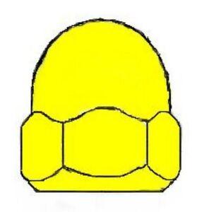 10-Hutmutten-DIN-1587-Messing-M-2-0-2-5-3-4-5-6