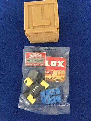 Haggie125 Roblox Mini Figure W Virtual Game Code Series 2 New Ebay - Roblox Series 2 New Haggie125 Comes With Virtual Code Checklist