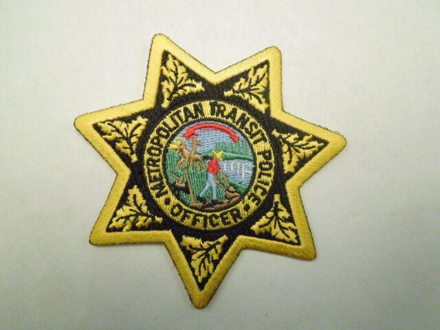 DONUT POLICE SHOULDER PATCH BLUE BORDER